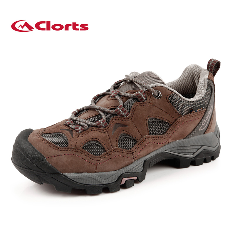 Clorts Women Hiking Shoes Waterproof Hiking Boots Outdoor Trekking Boots Sport Sneakers for Women HKL-810C цены онлайн