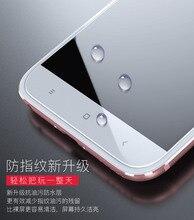 2 unids/lote nueva marca Carkoci con triple aumento Anti huella digital 2.5D película de vidrio templado para Xiaomi mi 5X mi 5X A1 mi A1 + regalos gratis