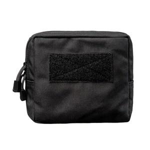 Image 5 - Sac de ceinture militaire tactique 1000D, pour lextérieur, outil EDC Molle, fermeture éclair, sac de ceinture pour accessoire, pochette Durable, nouveauté, 2019
