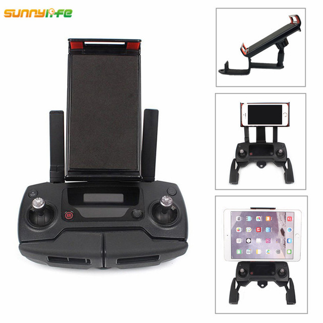 DJI Mavic Air DJI Spark Remote Controller Monitor Holder DJI Mavic Pro Accessories Foldable Phone Mount Clip Tablet Bracket
