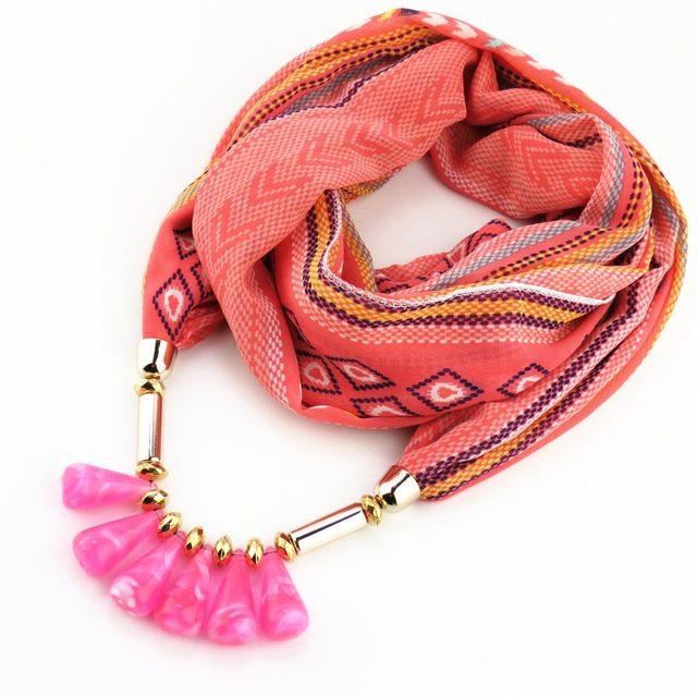 Online shop runmeifa bohemia wind scarf bullet pendant charm women runmeifa bohemia wind scarf bullet pendant charm women jewelry scarf necklace pashmina shawls wraps schal bufanda cachecol scarf aloadofball Images