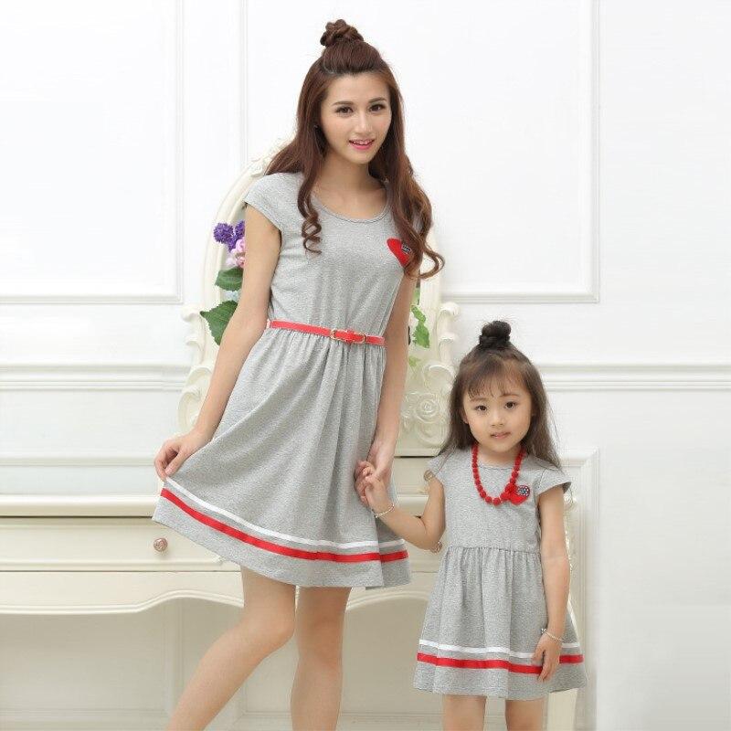 2018 Mother Kids Bodycon Dress Mother Da