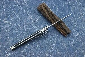 Image 3 - Oem ceo 7096 フリップ折りたたみナイフボールベアリング 8cr13mov刃ナイロンハンドルアウトドアキャンプ多目的狩猟edcツール