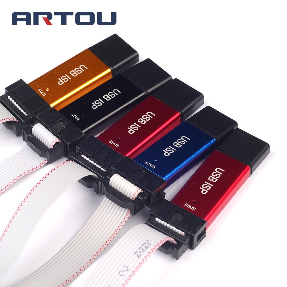 Buy Usbisp Usbasp Programmer For 51 Atmel Usb Avr Controllers Download Support Win 7 Color Random From Reliable Suppliers