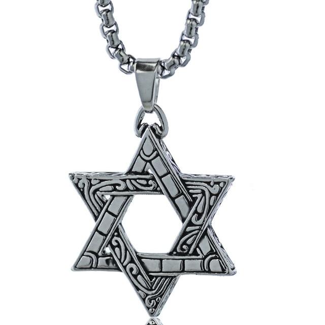 Star of David Ornamented Pendant