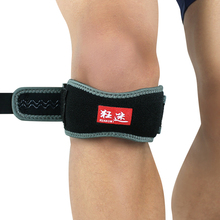 Kuangmi Patella Knee Tendonitis Strap Support Sports Safety Adjustable Jumperss Patellar Tendon Belt Protector Pain Relief
