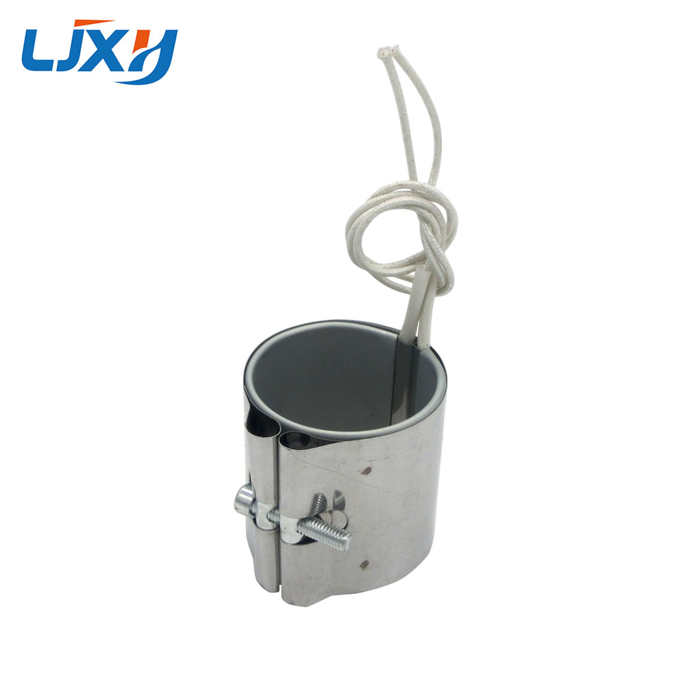 LJXH Band Heaters 220V 55x50mm/55x55mm/55x50mm Stainless Steel Heating Element Power 260W/280W/310W for Electric Kettle 2 5 coils stainless steel 304 food grade liquid heating element for 20 50 l brewery sparkling wine equipment tubular element