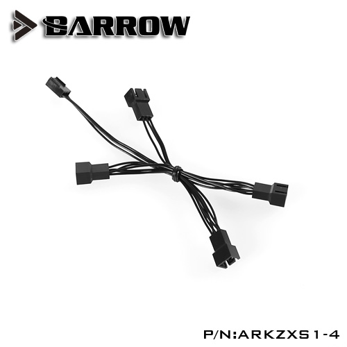 Barrow 5V AURA 1 to 4 Spliter cable for LRC RGB v2 control system light component ARKZXS1-4 2