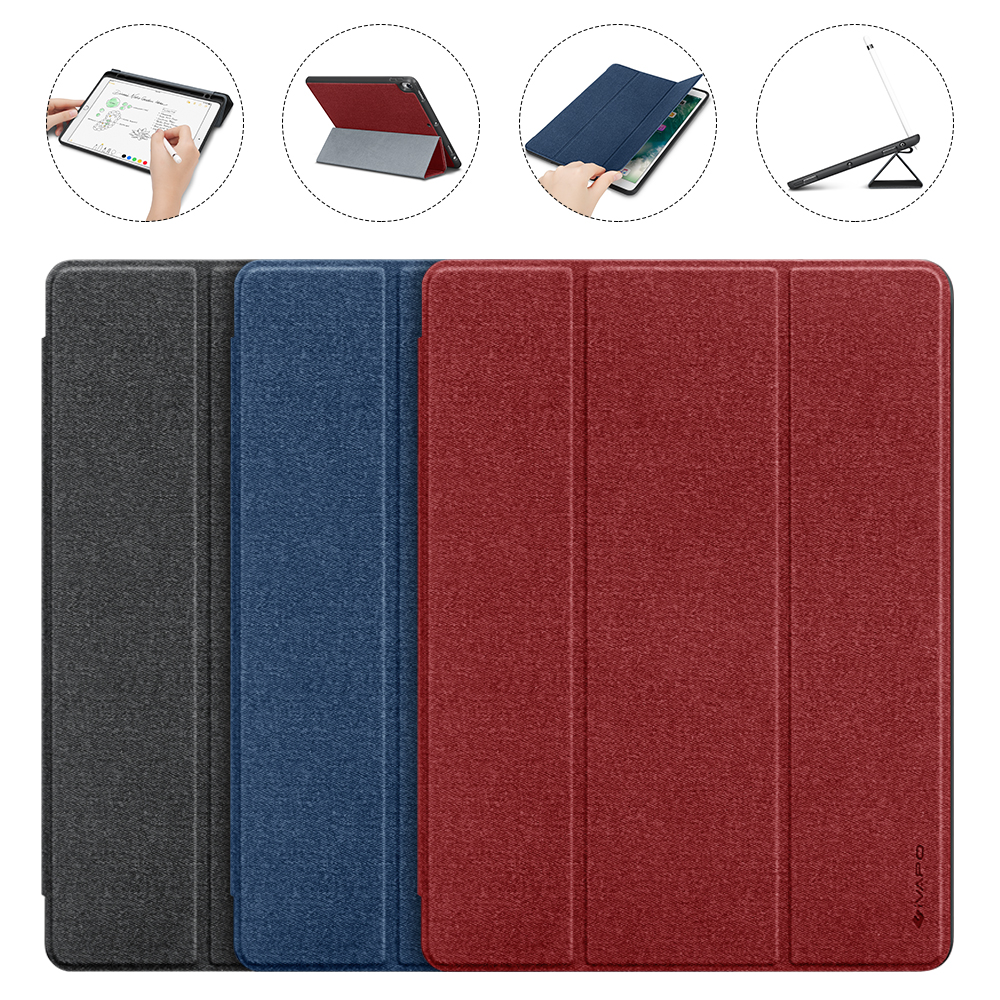 Hot For iPad Pro 10.5 Case PU Leather Slim Smart Cover With Pencil Holder Auto Sleep/Wake up For Apple iPad Pro 10.5 A1701 A1709 ultra slim smart cover protective trid fold stand leather case w pencil holder for apple ipad pro 10 5 inch a1701 a1709 tablet