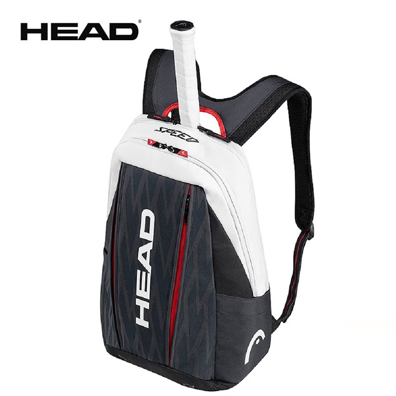 Professional HEAD Tennis Backpack Limited For 2 Tennis Rackets With Shoes Compartment Bag Endorsed by Novak Djokovi 2017(China)