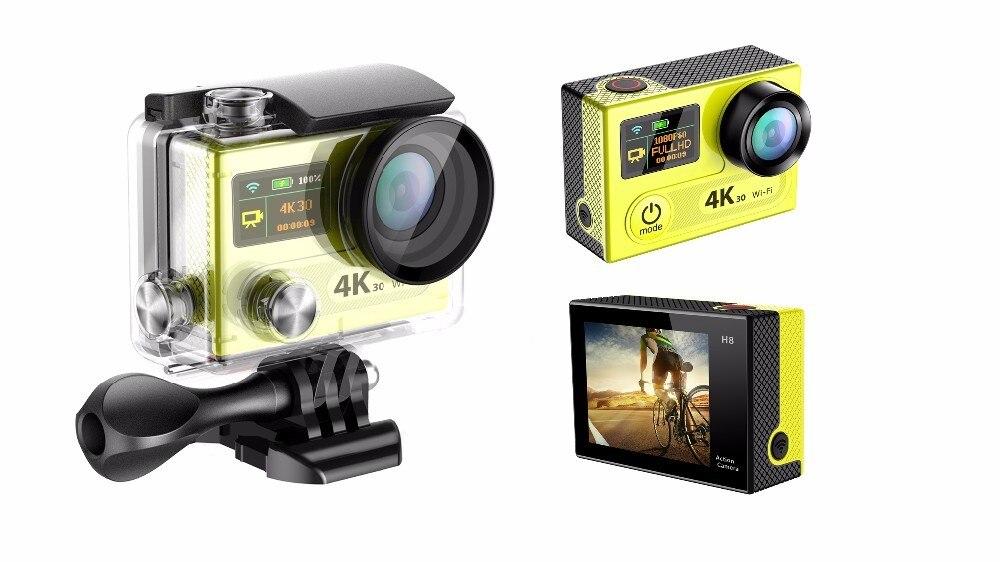Winait h8/h8r 4 k ultra hd dv deportes acción cámara wifi Control remoto 1080 P