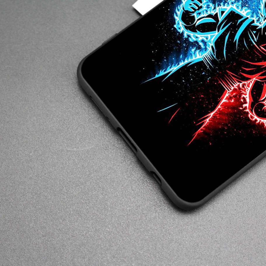 La bola del dragón del DragonBall z goku silicona caso para Samsung Galaxy M40 M20 S10e S10 S9 M10 S8 Nota 8 9 10 5G S7 S6 borde S8 + S9 +