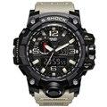 2017 Новый Люксовый Бренд Открытый G Стиль Мужчины Военные Цифровые часы Водонепроницаемые Спортивные Шок Многофункциональный Часы LED Digitat Часы