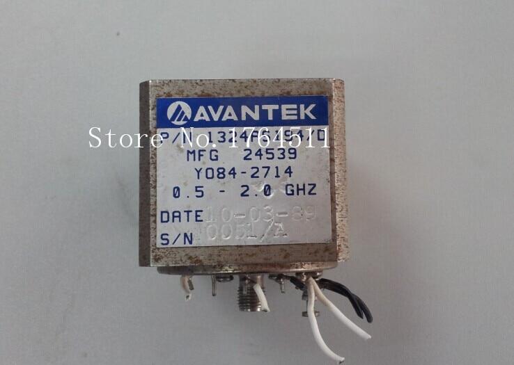 [BELLA] AVANTEK Y084-2714 0.5-2.0GHZ 15V VCO