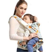 Эргономичный рюкзак Хипсит для переноски детей слинг новорожденных