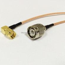 Câble de Connexion Modem SMA mâle à Angle droit vers connecteur mâle TNC RG316, câble adaptateur RF Pigtail 15CM 6 pouces