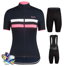 Ralvpha Cycling Jersey Set 2019 Womens Summer Mtb Mountain Bike Clothing Ropa Ciclismo Mujer Breathable Downhill