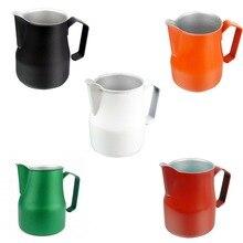 Кружка для взбивания молока молочник для кофе эспрессо Потяните цветок чашки из нержавеющей стали кофе латте кружка для взбивания молока кувшин посуда