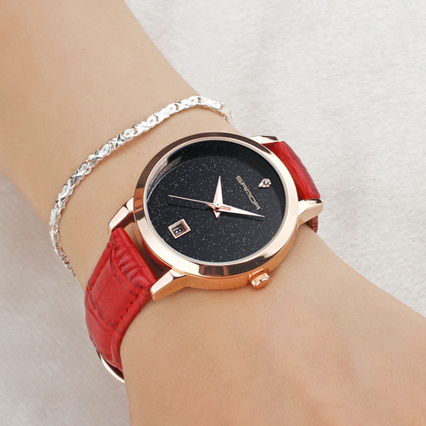 SANDA 2018 Fashion Watches Women Watches Ladies Luxury Brand Quartz Watch Women Clock Relogio Feminino Montre Femme Islamabad