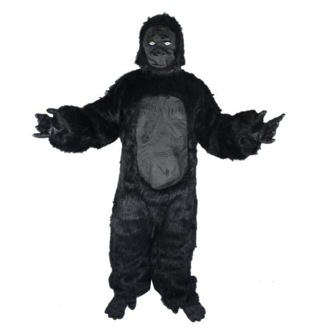 2017 Cosplay Costume di Halloween Vestiti Uomo Scimmia Scimpanzé Costume  Adulto Gorilla Vestito 5fd412a566b