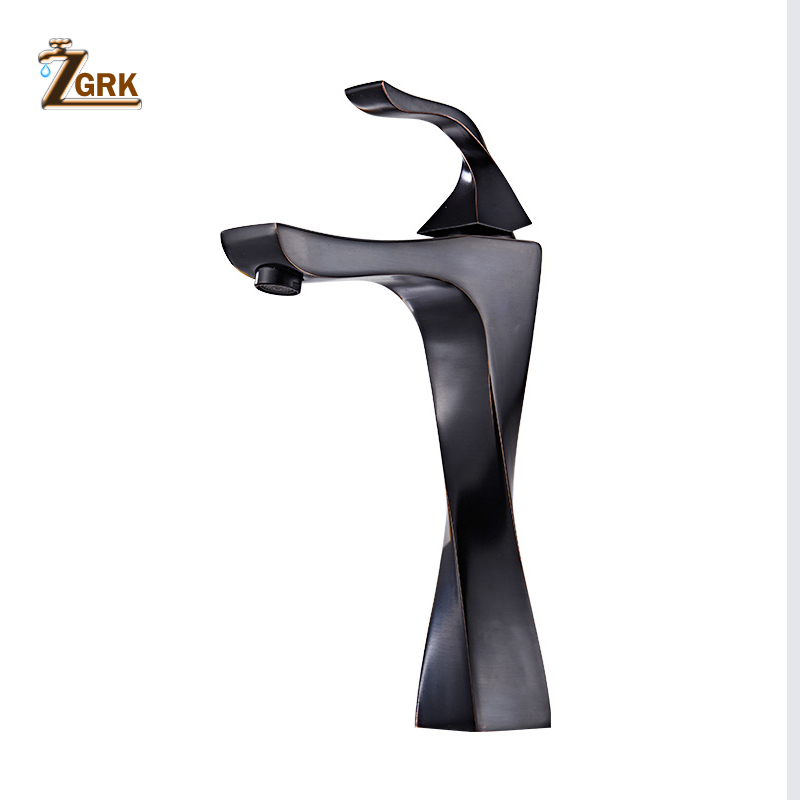 ZGRK Basin Faucets Bathroom Bamboo Hot Cold Mixer Taps Classic Basin Mixer Antique Brass Outdoor Tap Deck Mounted Sink Kitchen basin faucets brass antique deck mounted kitchen bathroom sink faucets dual handle vintage carving hot cold mixer tap ld10121aab