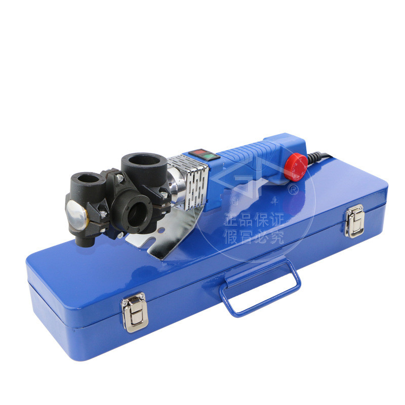 Electronic thermostat 20-32mm 800W AC 220 Plastic Weld Pvc Ppr Pe Pipe Tube Welding Machine free shipping 16 32mm 4pcs die heads ppr tube pipe welding machine plastic pipe welderac 220 110v ppr pe pp pipe welding