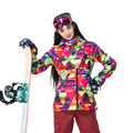 Skiing Jackets Women Gsou Snow Ski Jackets Snowboard Clothes Women Ski Jacket Waterproof Breathable Wind Warm