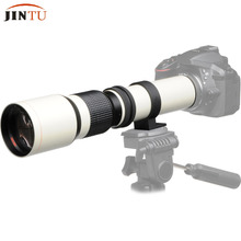 JINTU White Energy 500mm f/eight.Zero f8 Telephoto Zoom Guide Focus Lens + T-Mount for SONY NEX A58 three /A7/A7R A3000 A6000 HX300