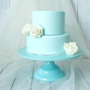 Baby blue fondant cake stand cake pops wedding table decorating tools dessert candy bar