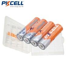 4 x прочные Ni-Zn 2500 mwh 1,6 V AA аккумуляторные батареи 2A Bateria Baterias батарея с 1 чехол для аккумулятора