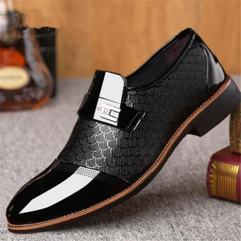Chaussures homme en cuir cirée noir marrons 1