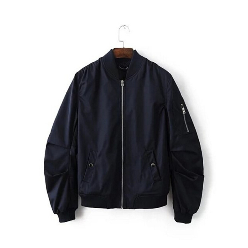 All Black Bomber Jacket - My Jacket