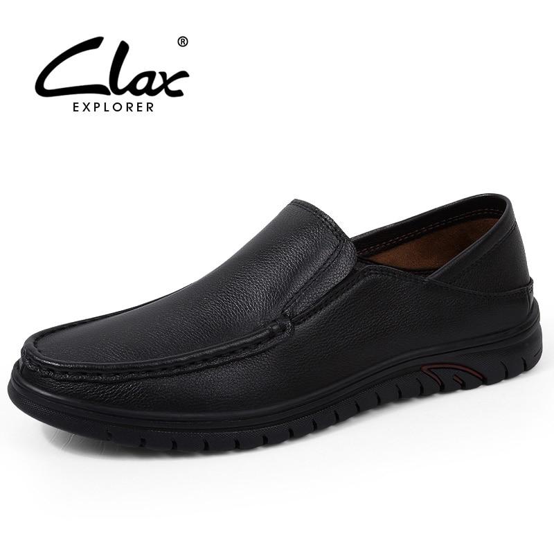 Hommes Loisirs Cuir Respirant Sport Chaussures 2018 Mocassins black Clax Mode Slip 2 En Black D'été De Mâle Véritable Ons 0mvPNwy8nO