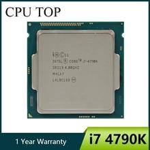 Intel Core i7 4790K 4.0GHz dört çekirdekli 8MB önbellek HD grafik 4600 TDP 88W masaüstü LGA 1150 CPU işlemci