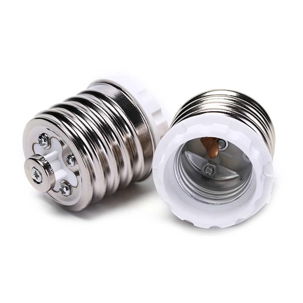 E40 to E27 Adapter LED Bulb Adapter Lamp Bulbs Base LED Light Bulbs Socket Adapter Bulb Converter E27 E40 Lamp Holder