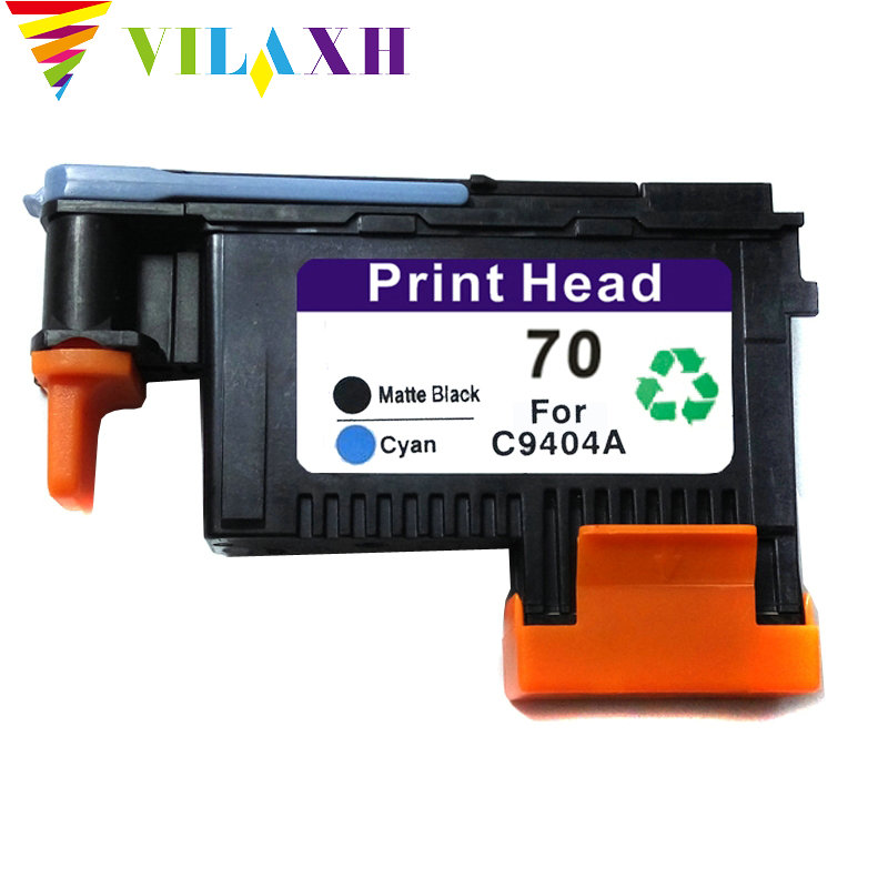 vilaxh 70 print head Replacement For HP 70 For DesignJet C9404A C9407A C9406A C9405A Z2100 Z3100 Z5200 Z3200 in Printer Parts from Computer Office