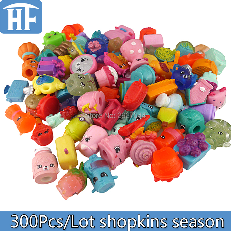 2017 Hot 300Pcs/Lot Mixed Fruit Dolls Shop Season Family Kins Action Figures Brinquedo Soft Rubber Model Toys For Children Gift 12pcs set children kids toys gift mini figures toys little pet animal cat dog lps action figures