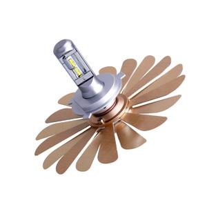Image 5 - Mdatt Siêu Làm Mát LED Xe Hơi 100W Quạt Không Cánh Bóng Đèn Pha H4 LED H1 H7 9005 9006 Có Thể Gập Lại Quạt Lá 12V Xe Ô Tô Tự Động Đèn Xi Nhan CANBUS
