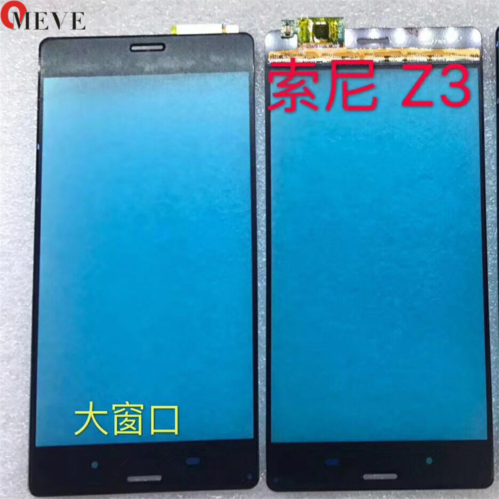 High Quality For Sony Xperia Z Z1 Z2 Z3 Mini Z4 Z5 Compact Touch Screen Digitizer Front Glass Lens Sensor Panel