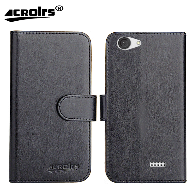 MLS iQTalk Flame Case Factory Direct 6 Colors Dedicated Leather Exclusive 100 Special Phone Cover Crazy Horse Cases Tracking
