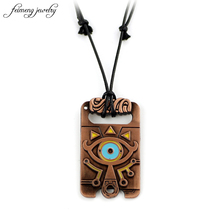Legend of Zelda Necklace for Best Friends Wild Fashion Chain Rope Necklace Eyes Anime Man Women Collier Jewelry Zelda 1pcs