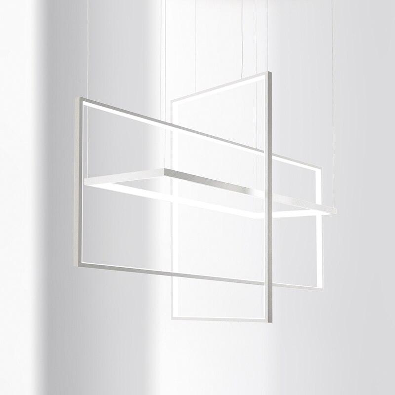 Современное освещение люстры для офисных кухнях подвесной светильник люстра AC85-265V люстра блеск де плафона moderne