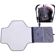 Portable diaper baby changing pad cover play nappy changing mat table bag mattress waterproof large travel