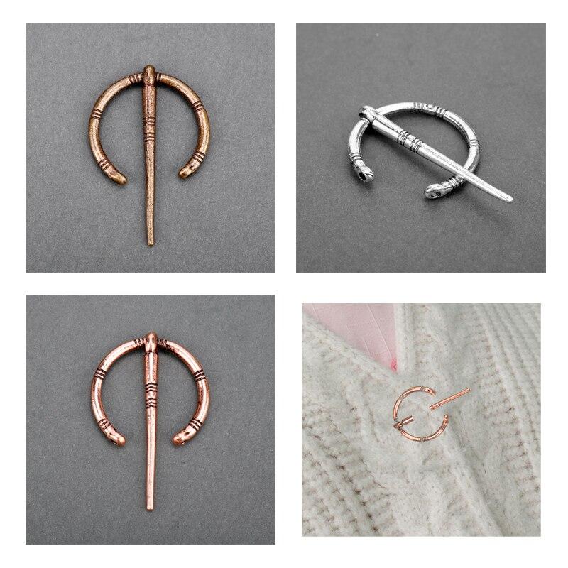 Vintage esmalte pin Broche de las mujeres de los hombres accesorios Steampunk broches capa solapa Broche