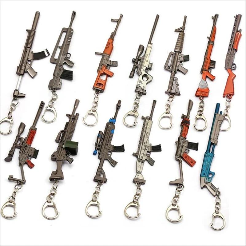 Rifle 3D Key chain