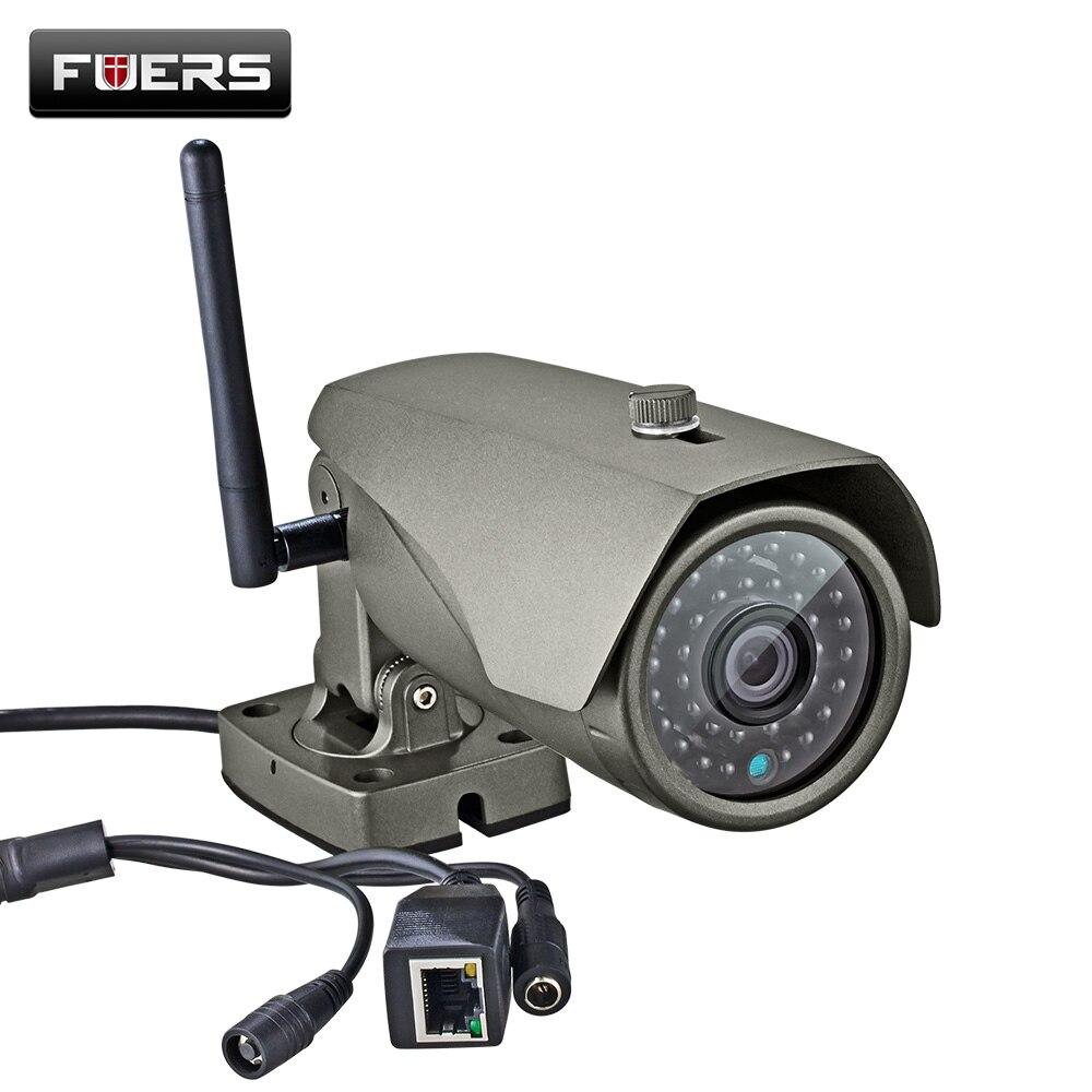 imágenes para WIFI cámara Impermeable Bala Cámara de 1MP IP de Visión Nocturna Para la Seguridad del Hogar Uso al Aire libre Cámara de Vigilancia CCTV IP Inalámbrica cámara
