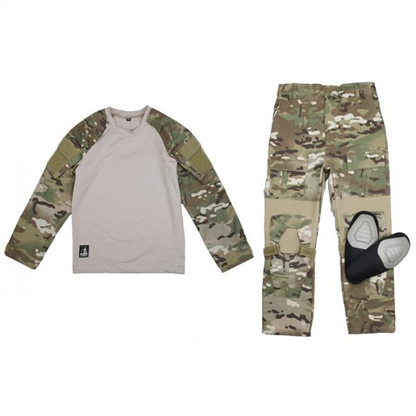 Outdoor Children's CP Hunting Outfit Camouflage Suit Clothes Boy's Kids Army Military Tactical ACU Combat Uniforms CS Kids Sets black hunting clothes military uniforms mens hunting clothing tactical combat shirt cargo pants outdoor army ghillie suit men