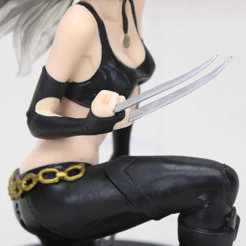 A Laura Kinney 14 centímetros Estátua Wolverine X-23 1/7 Spder-Mulher Gwen Stacy Figural Coleção Modelo