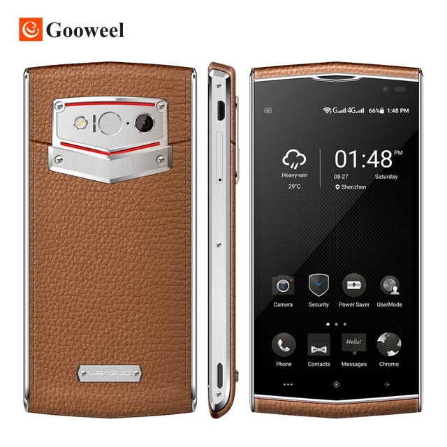 Original 5.0 pulgadas Leagoo MTK6753 V1 teléfono Móvil octa-core Android 5.1 3 GB RAM 16 GB ROM 13MP 3000 mah Teléfono Inteligente de IDENTIFICACIÓN de Huellas Dactilares