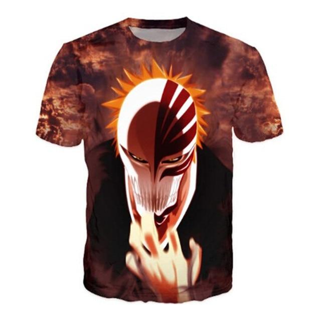 Bleach Women/Men 3D Large Size T-Shirt